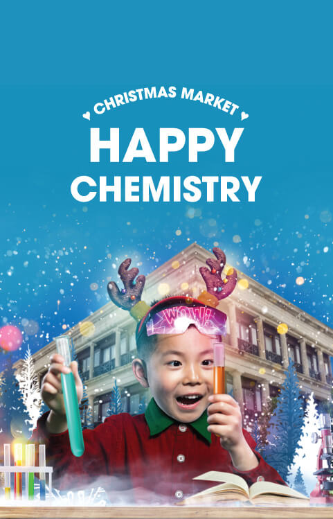 Stanley Plaza - Chrismas Market: Happy Chemistry